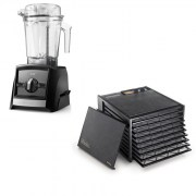 pakke 9bretts excalibur og vitamix ascent 2300i