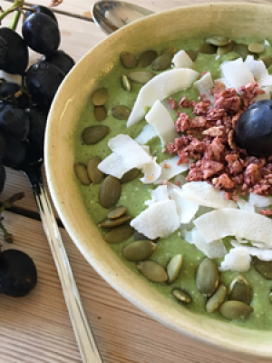 Grønn Smoothie bowl